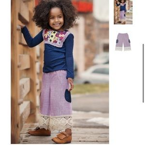 Girl Persnickety Double Dutch Pocket Capri Lace 5Y